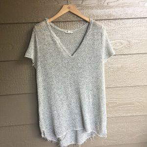 Anthropologie hem & thread Distressed Style tunic